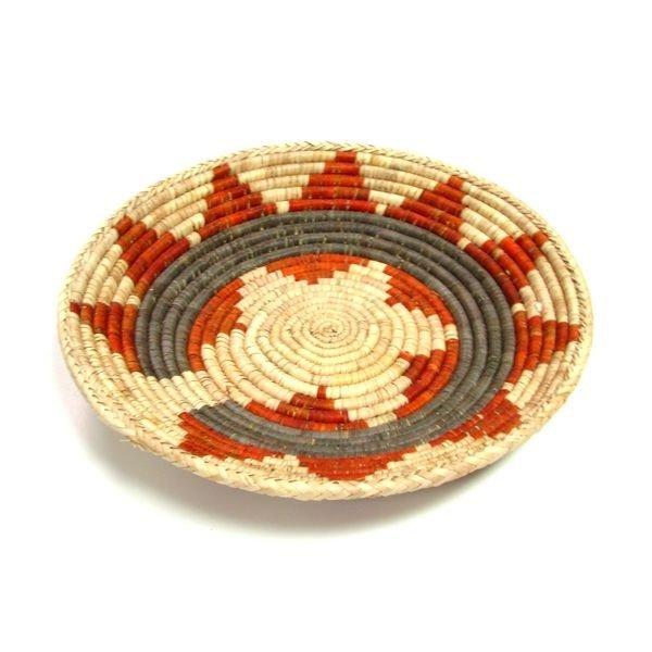 Hand Woven Southwest Style Basket Tray