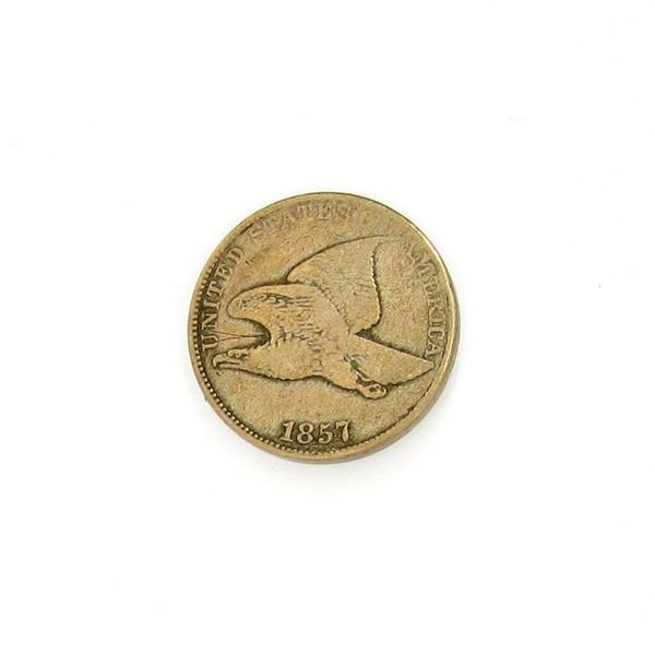 1857 Flying Eagle Cent Coin - Investment
