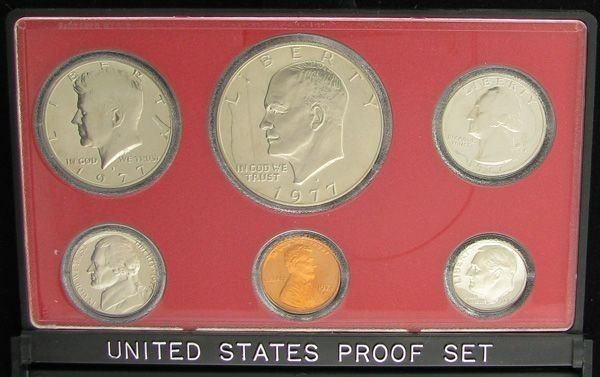 1977 U.S. Proof Set Coin - Investment