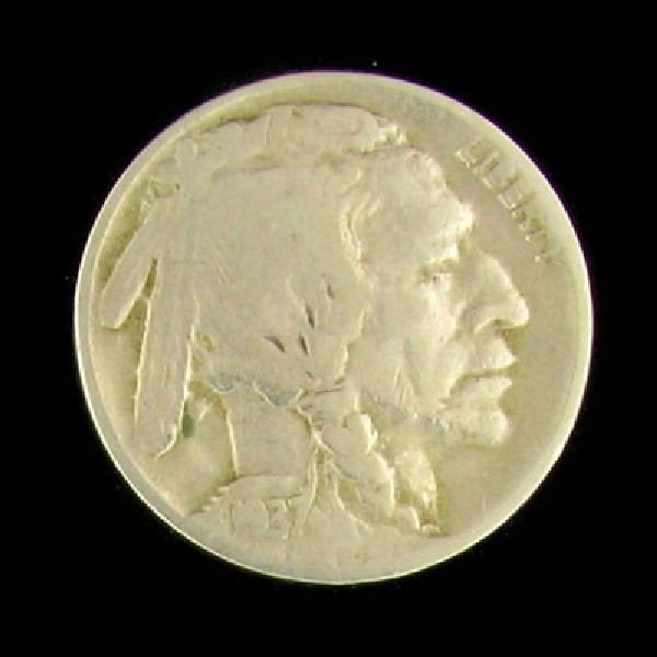 1937-D US Five Cent Three Leg Coin - Investment