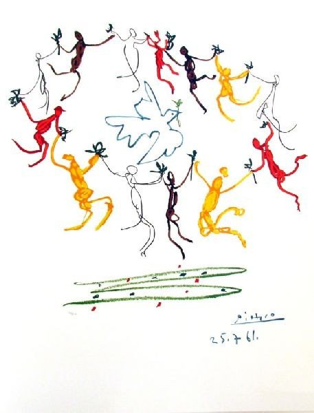 15: PABLO PICASSO Le Rhonde Print, Limited Edition