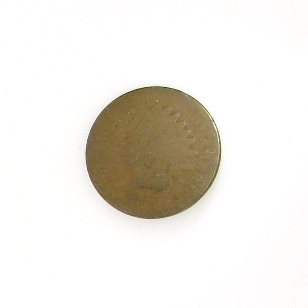 1871 Indian Cent Coin - Investment