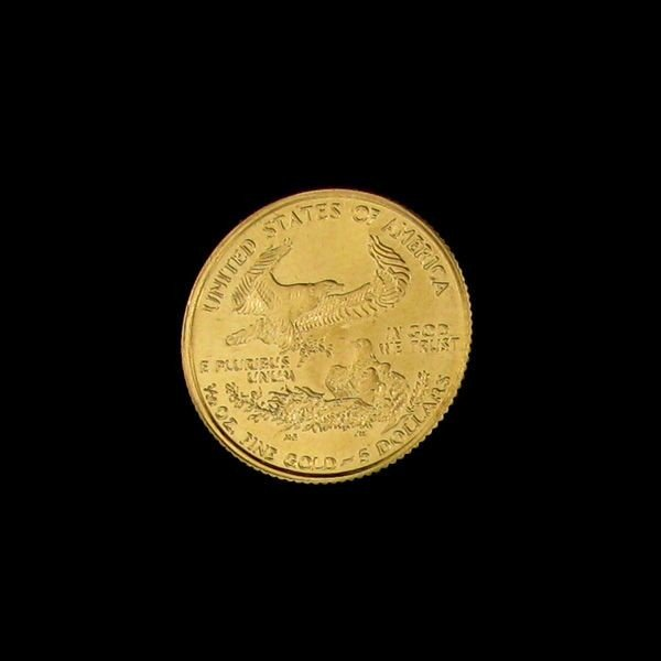 1999 $5 U.S.Gold Saint Gaudens 1/10 Coin - Investment