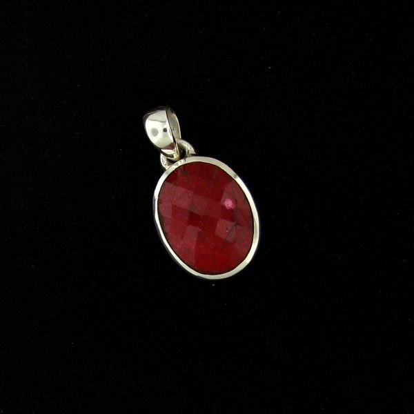 APP: 11.2k 17.56CT Ruby & Sterling Silver Pendant