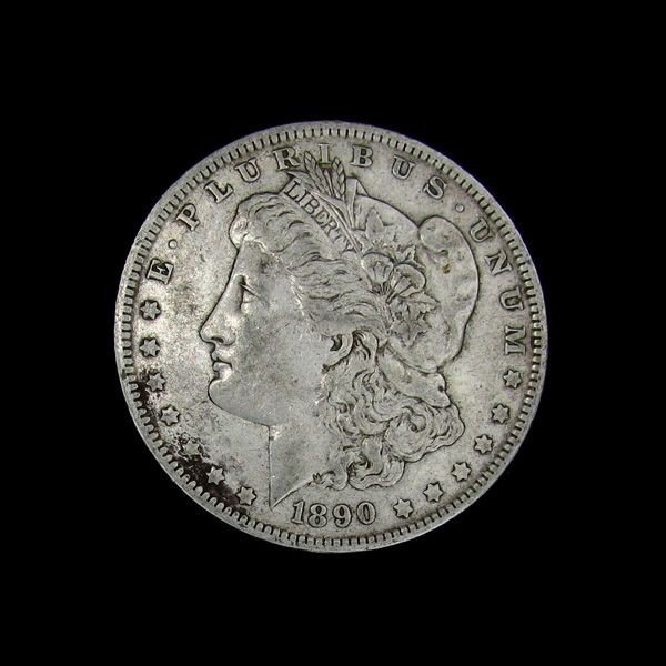 1890-O Liberty Head Silver Dollar Coin - Investment