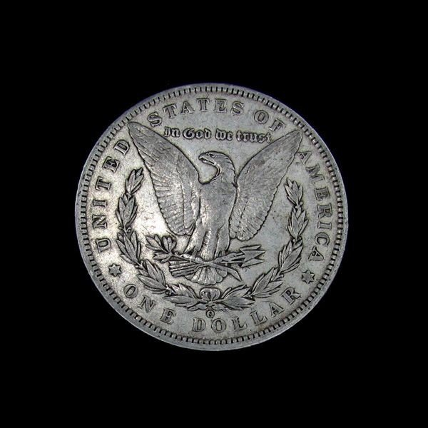 1890-O Liberty Head Silver Dollar Coin - Investment - 2