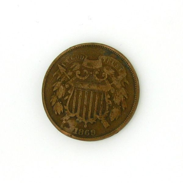 1869 Two Cent Coin - Investment