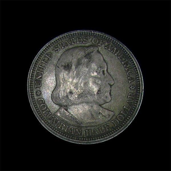 1893 Columbian Exposition Commemorative Half Dollar Coi