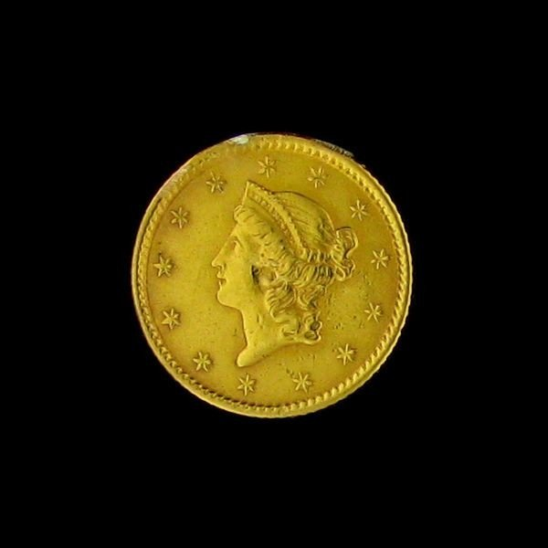 1853 U.S. Gold Liberty Head $1 Coin - Investment