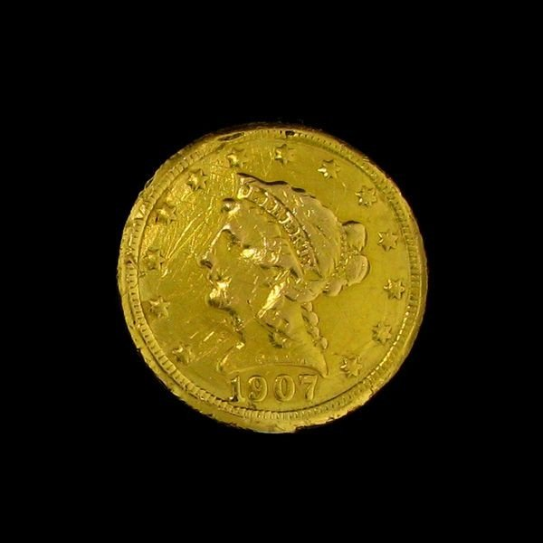 1904 U.S. Gold Liberty Head $2.50 Coin - Investment