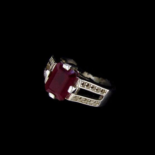 APP: 6.4k 2.91CT Ruby & Sterling Silver Ring