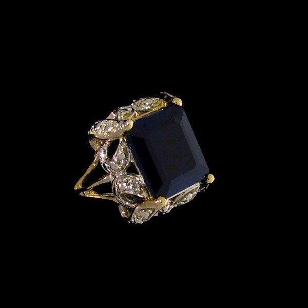 APP: 19.3k 7.74CT 14 kt. Gold, Sapphire Ring