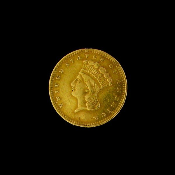 1859 U.S. Gold Indian Head $1 Coin - Investment