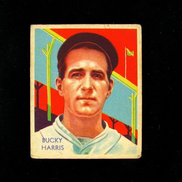 Bucky Harris #91 BP $90-455 Dia. Star Baseball Card