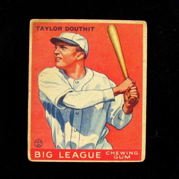 Taylor Douthit #40 BP $45-250 Goudey Baseball Card