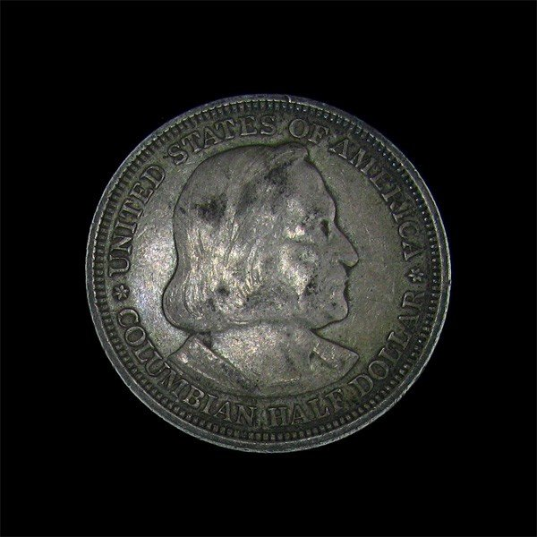 1893 Columbian Expo. Commem. 1/2 Dollar Coin-Investment