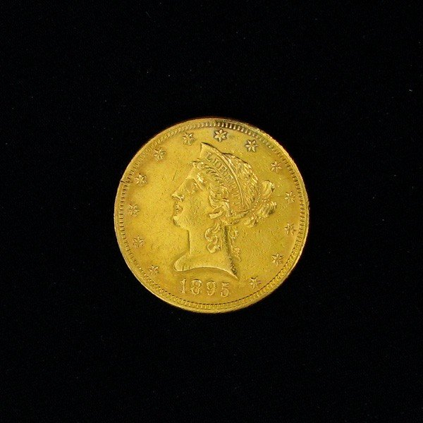 1895 U.S. Gold $10 Liberty Coin - Investment