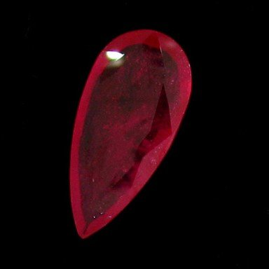 APP: 12.1k 19.73CT Pear Cut Ruby Gemstone