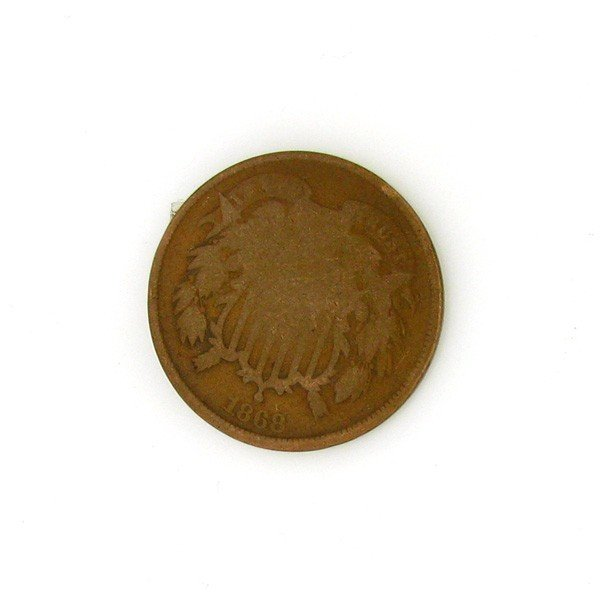 1868 Two Cent Coin - Investment