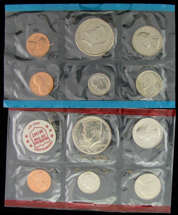 1971 U.S. Uncirculated Mint Set Coin - Investment