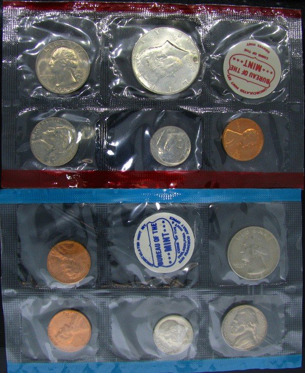 1968 U.S. Uncirculated Mint Set Coin - Investment
