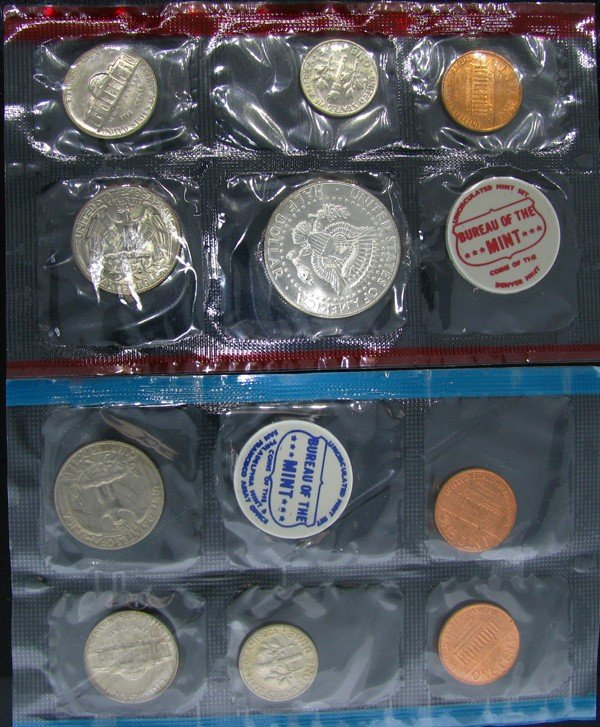 1968 U.S. Uncirculated Mint Set Coin - Investment - 2