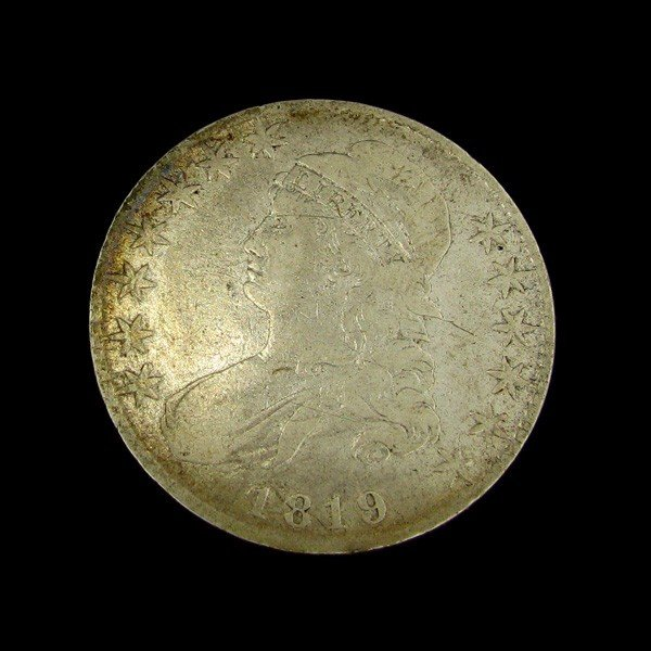 1819 Capped Bust Half Dollar Coin - Investment