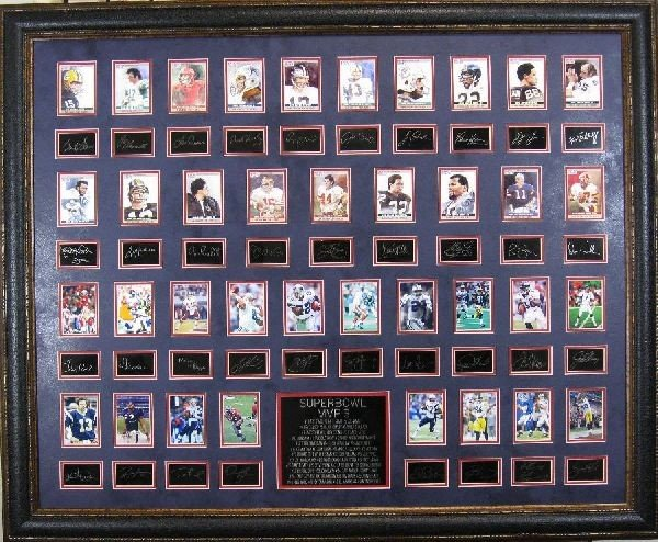 Superbowl MVPs - Plate Signatures!