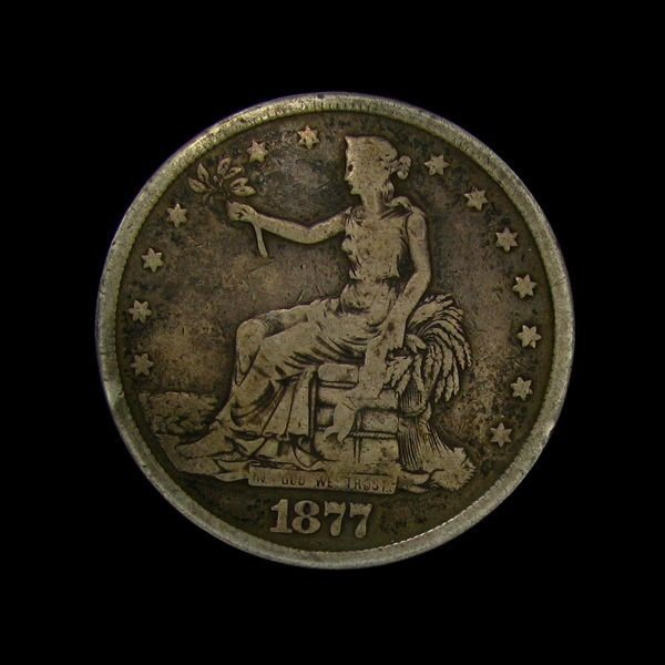 1877 Trade Dollar Coin - Investment