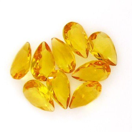 APP: 2.4k 20.62CT Pear Cut Citrine Parcel