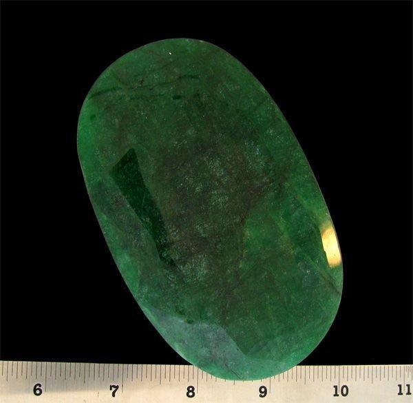 APP: 476k 1,658.45CT Oval Cut Emerald Gemstone