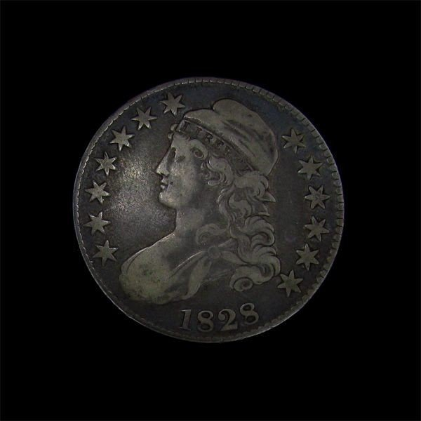 1828 Liberty Capped Bust Half Dollar Coin - Investment