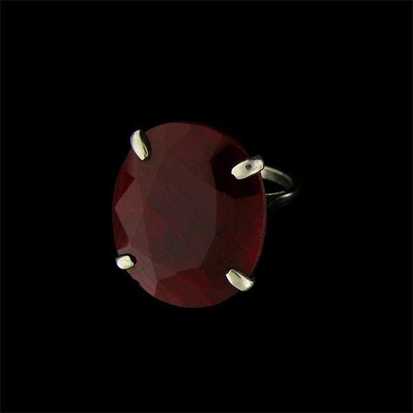 APP: 36.2k 32.33CT Ruby & Sterling Silver Ring