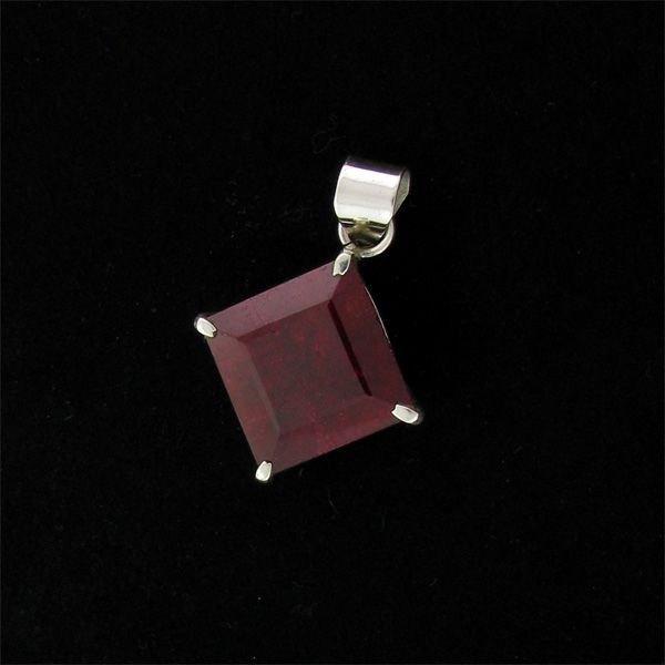 APP: 33k 40.39CT Ruby & Sterling Silver Pendant