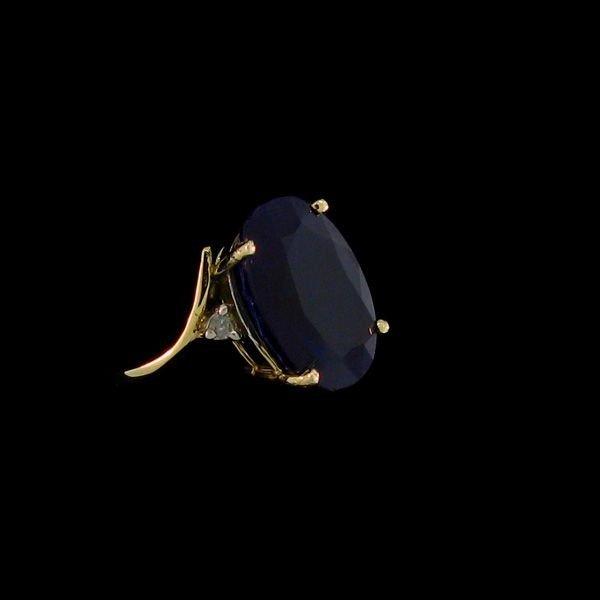 APP: 20.8k 8.66CT 14 kt. Gold, Sapphire & Diamond Ring