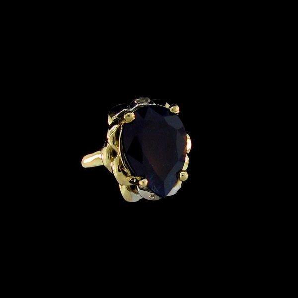 APP: 14.8k 8.72CT 14 kt. Gold, Sapphire & Diamond Ring