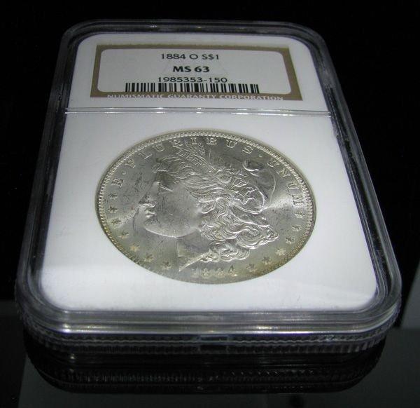 1884-O U.S. Morgan Silver Dollar Coin - Investment