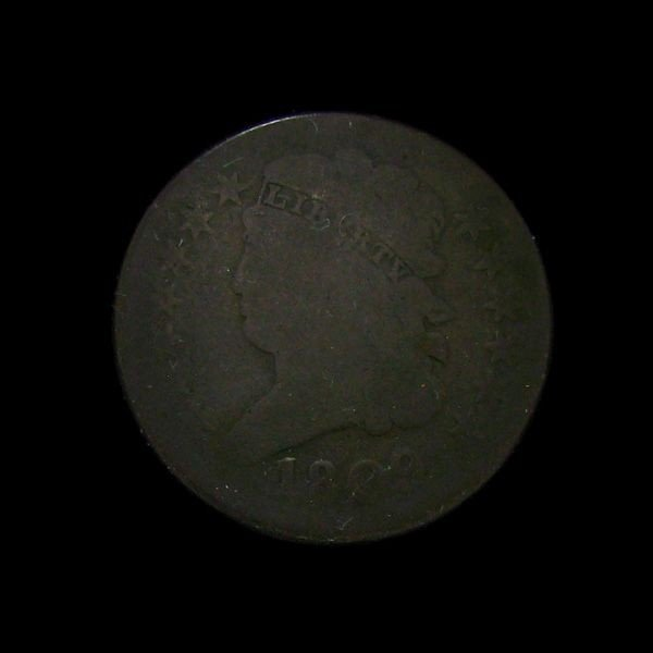 1809 Classic Head Half Cent Coin - Investment