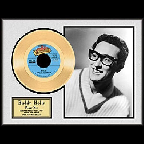 """BUDDY HOLLY """"Peggy Sue"""" Gold Record"""