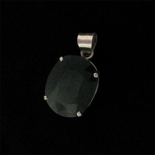 APP: 39.8k 36.27CT Emerald & Sterling Silver Pendant