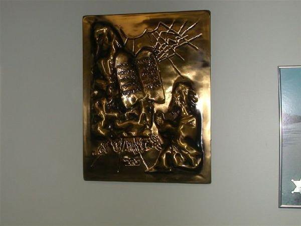 Salvador Dali Sculpture - The Ten Commandments