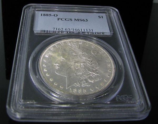 1885-O Morgan Silver Dollar Coin - Investment