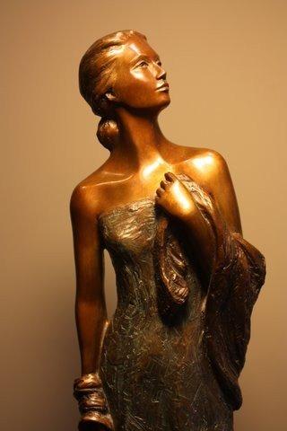 Alice Riordan - Virtuous Spirit Bronze Sculpture