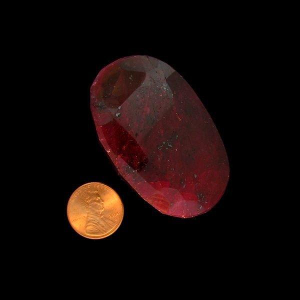 APP: 129.6k 547.00CT Oval Cut Ruby Gemstone