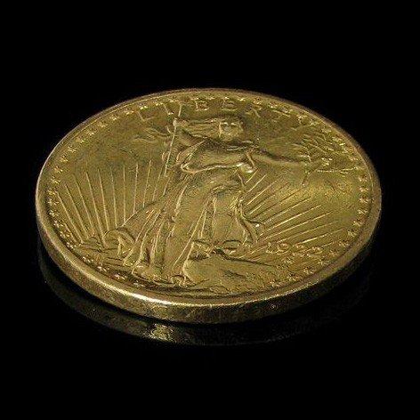 1922 $ 20 U.S. Saint Gaudens Liberty Gold Coin - Invest