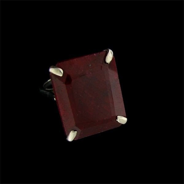 APP: 39.5k 35.33CT Ruby & Sterling Silver Ring