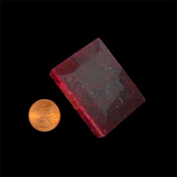 APP: 130.2k 453.59CT Emerald Cut Ruby Gemstone