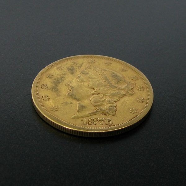1876-S $20 U.S. Liberty Head Gold Coin - Investment