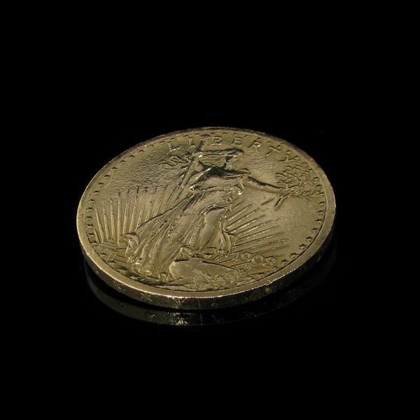 1908 $ 20 U.S. Saint Gauden Liberty Gold  Coin - Invest