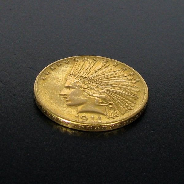 1911 $10 Indian Head Gold Coin - Investment